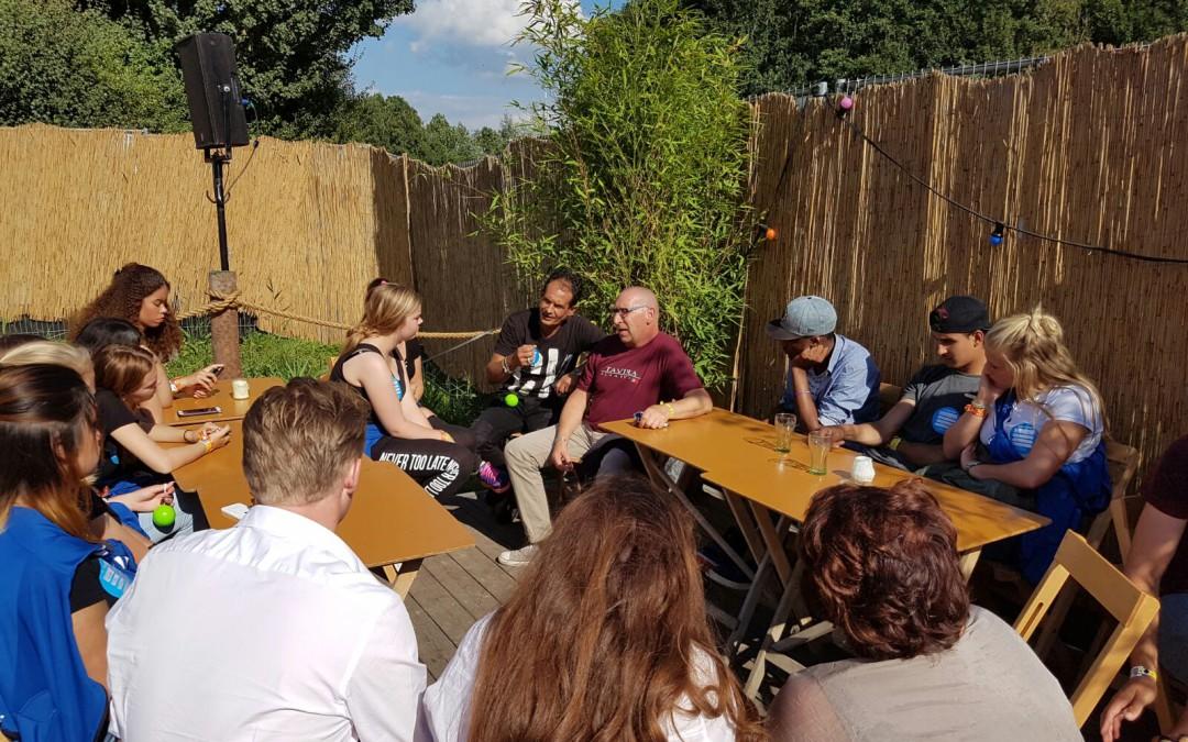 Jongeren project SOEP! bij Lowlands