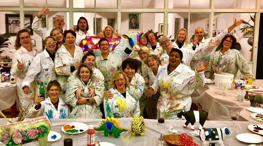 Creatief teamuitje Bureau LWPC